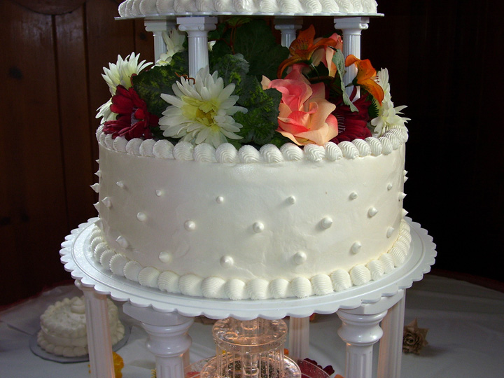 Another Northern Delights Created Wedding Cake For A Michigan Customer