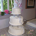 Another Northern Delights-created wedding cake for a northern Michigan customer.
